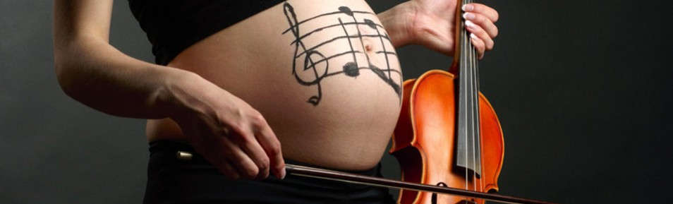 Stimulation mit Musik im Mutterleib
