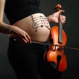 Stimulation durch Musik im Mutterleib